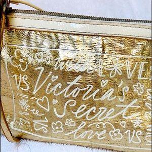 Victoria's Secret Golden Love Bag